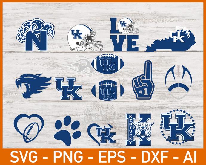 Kentucky Wildcats, Kentucky Wildcats svg, Kentucky Wildcats clipart, Kentucky