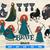 Brave SVG Bundle, Princess Merida Svg, Brave Clipart, Disney Princess Svg,