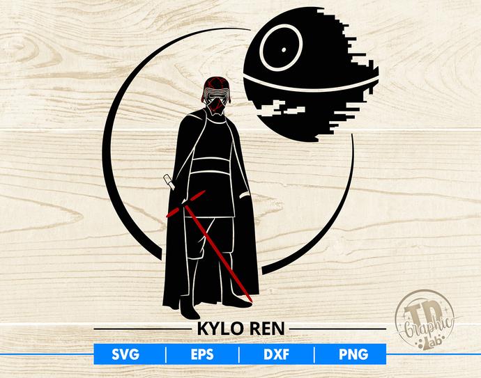 Star Wars SVG, The Rise of Skywalker Svg, Kylo Ren Svg, Vector Cut File Cricut
