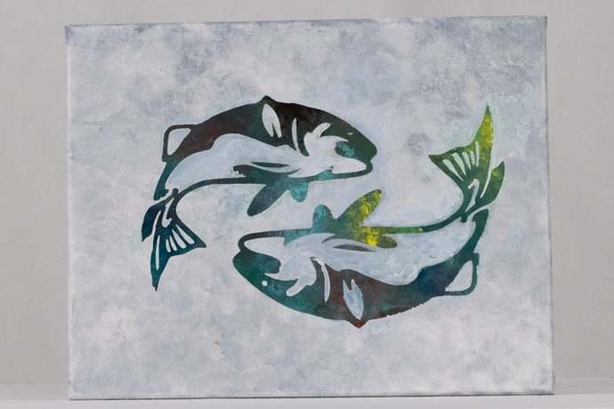 Green Twin fish
