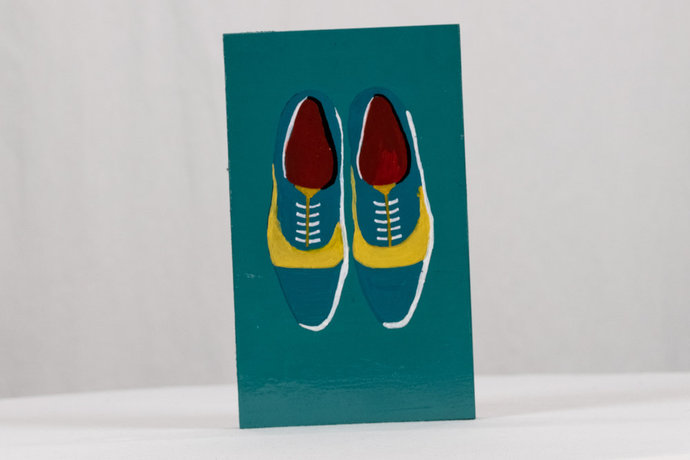 Teal Bowling Shoes