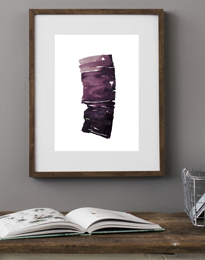 Set of 2 , Print, contemporary art, ornament painting, rustic home decor, wall