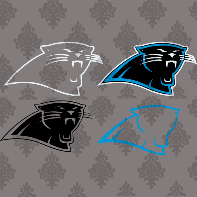 Carolina Panthers,nfl svg,Football svg file,Football logo,nfl football svg,nfl