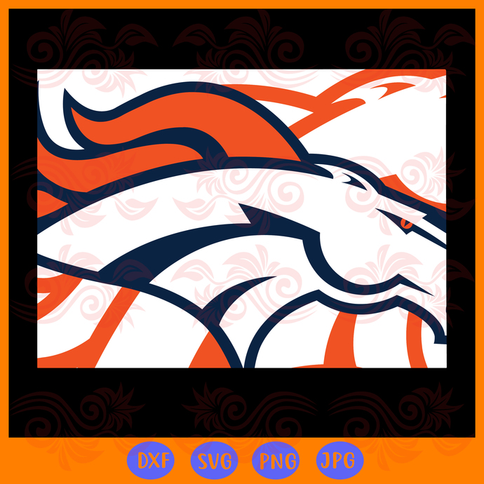 Denver Broncos,nfl svg,Football svg file,Football logo,nfl football svg,nfl
