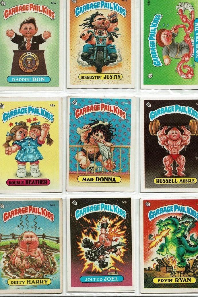 Garbage Pail Kids' Cards: