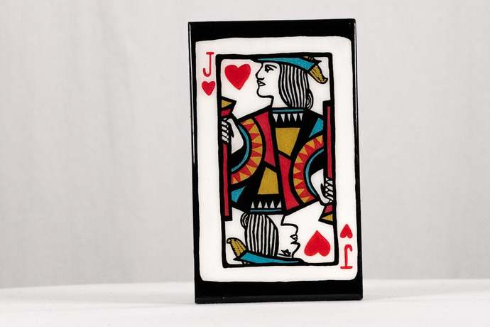 Jack of Hearts wall hanging