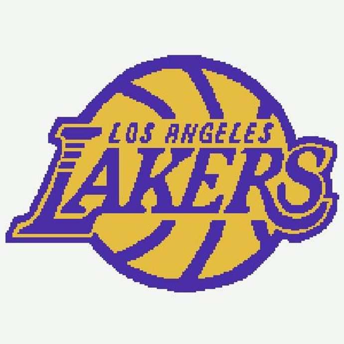 La Lakers Single Crochet Pattern By Allyssabethscrochet On Zibbet