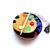 Tape Measure Rainbow Palette Small Retractable Measuring Tape
