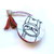 Tape Measure White Sloths Small Retractable Measuring Tape