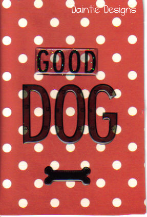Good Dog Greeting Card