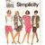 Simplicity 8447 Womens Skirt, Tank Top, Shorts, Shirt-Jacket 90s Vintage Sewing
