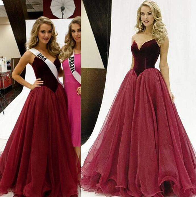 velvet prom dresses long pageant dresses for women cheap organza simple elegant