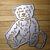 Teddy Bear Metal Embossing and Cutting Die