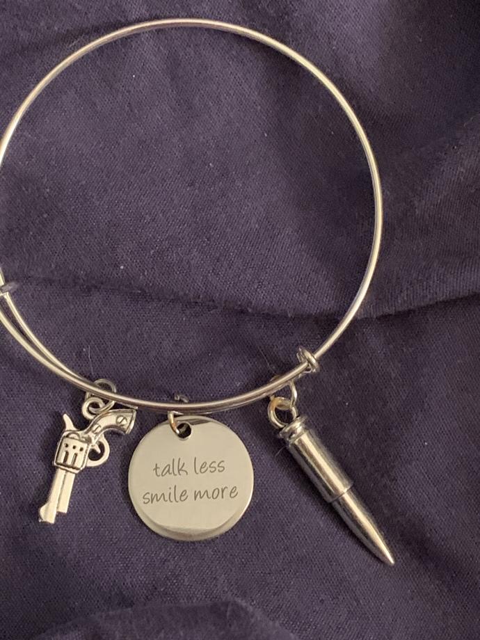 Talk less smile more, Aaron Burr, Alexander Hamilton, revolutionary bracelet
