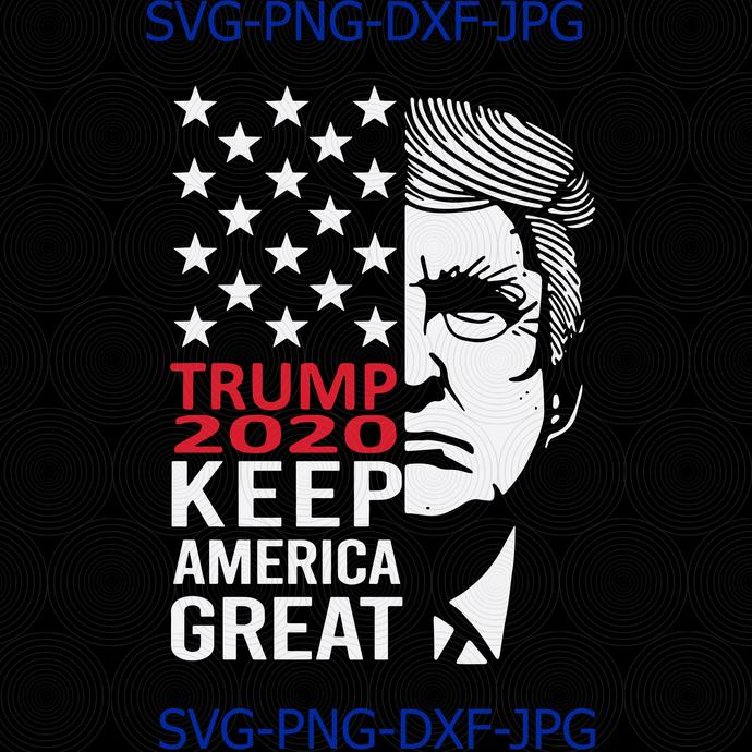 Keep America Great Svg Donald Trump Svg Trump By Digital4u On Zibbet