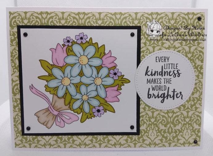 Bouquet - Digital Stamp