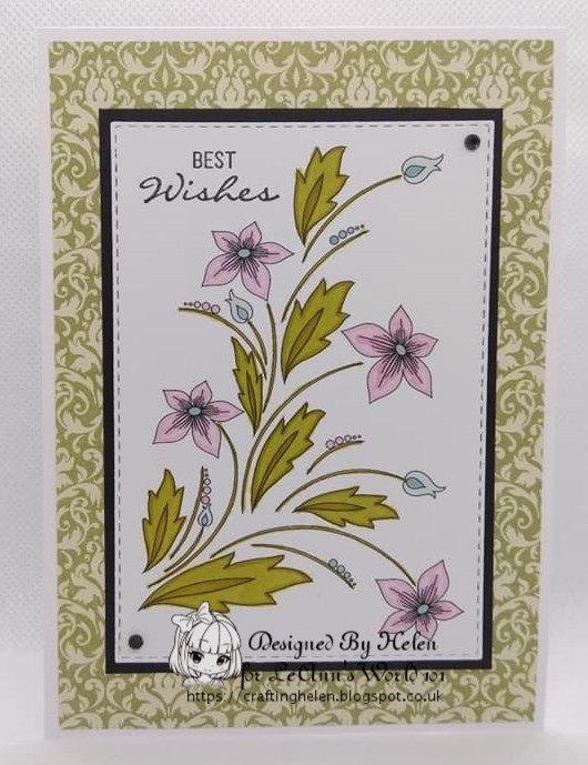 Floral - Digital Stamp