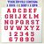 Varsity font vector 3 layers. Sport font college alphabet letters and numbers