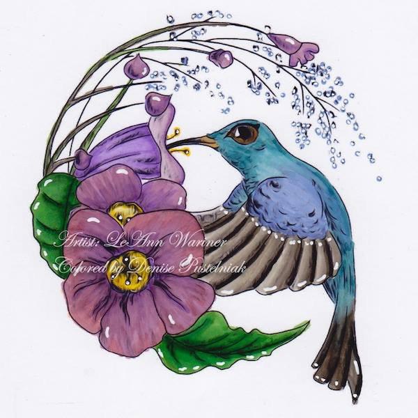 Sweet Nectar - Digital Stamp
