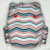 Red, White, and Blues Zig Zag - Cloth Diaper or Cover - You Pick Size and Style