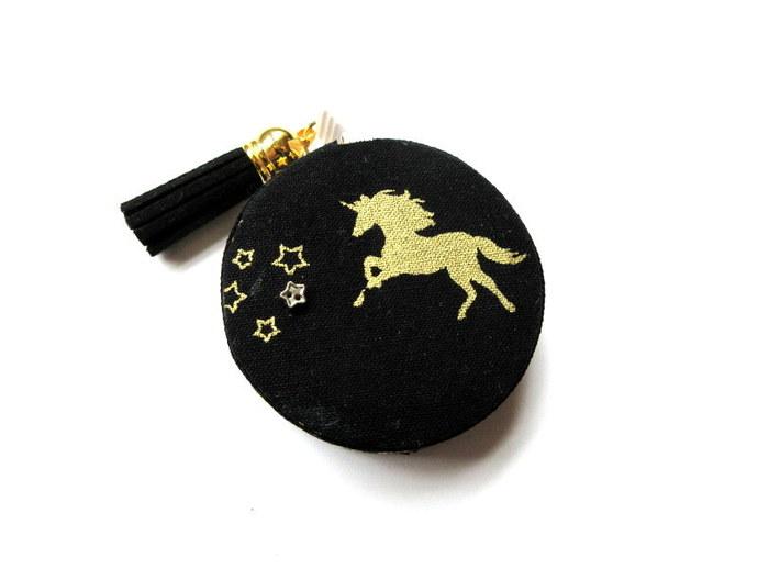 Tape Measure Golden Unicorns Small Retractable Measuring Tape