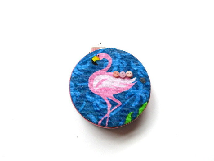 Tape Measure Flamingo Birds Small Retractable Measuring Tape
