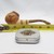 Wood Tobacco Pipe and Mini Tin Set Artisan Howling Wolf Designed Set in Gift Box