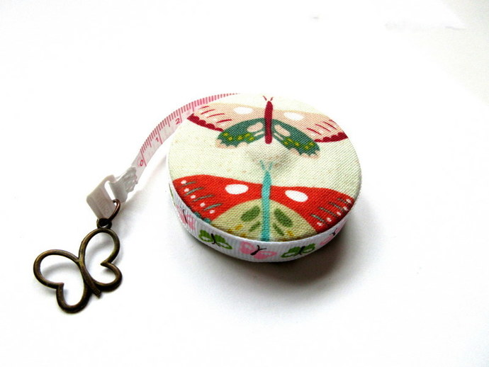 Measuring Tape Moths and Butterflies Retractable Small Tape Measure