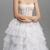 Lace corset tulle skirt wedding dress, Tulle ball gown wedding dress, Lace