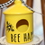Rae Dunn Inspire Mini Birdhouse-BEE HAPPY-with a Bee too! Pairs great with any