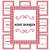 Printable Recipe Binder Kit_Red & White Houndstooth Pattern