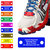 Waterproof Shoe ID Tag Personalized Impact Acrylic-In Case of Emergency