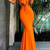 Sweetheart Mermaid Sexy Two Pieces Long Prom Dresses