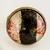 'Black White Red' Copper Medium Ring