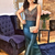 Charming Prom Dress, Satin Prom Dress, Beading Evening Dress