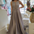 Sleeveless Prom Dress, Long Prom Dress