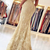 Mermaid Off the Shoulder Light Champagne Lace Prom Dress with Beadings