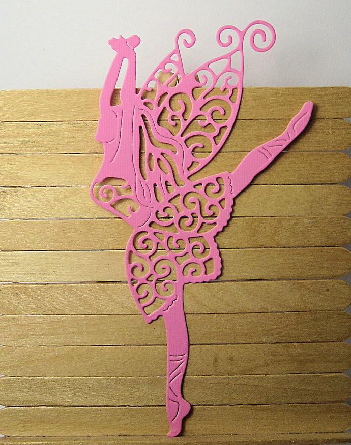 Dancing Fairy Girl Cutting Die