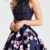 Two Pieces Beading Sleeveless Homecoming Dress,short homecomnig dresses