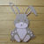 Small Bunny Rabbit with Carrot Cutting Die Set