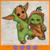 Baby Yoda and Groot Novelty, Baby yoda svg, yoda svg, Groot svg, the
