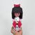 DIY Papercraft kokeshi doll,Kokeshi santa doll,Papercraft doll,Kokeshi doll