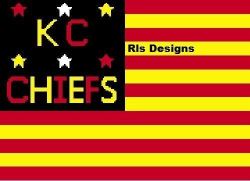 Kc chiefs flag