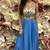 Beading Prom Dresses A-line Floor-length Prom Dress