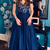 A-line Off The Shoulder Prom Dress with Lace,