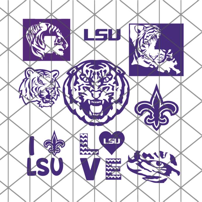 Lsu Tigers svg, lsu logo svg, LSU football svg, Louisiana team svg, Mike the
