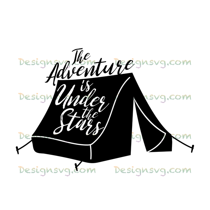 The adventure is under the stars,camping svg, camping, camping shirt,camper
