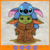 Baby Yoda and stitch, Baby yoda svg, yoda svg, stitch svg, the Mandalorian, star