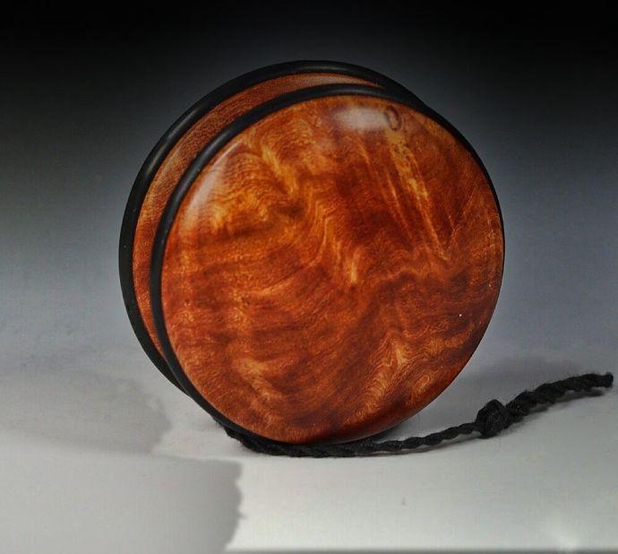 Rare Ironwood Burl Handmade Yo-Yo