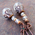 Sparkle Plenty Drop Earrings with Copper